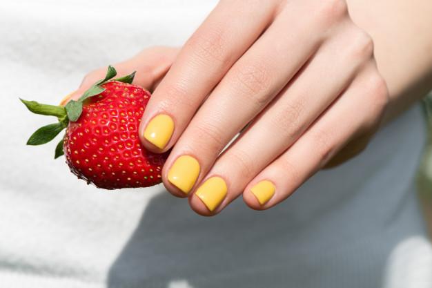 gul gel polsih negle